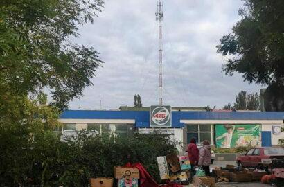 "Антенна на ""АТБ"" по пр. Богоявленскому, 342/5 в Николаеве"