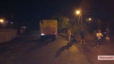 Прорыв канализации по ул. Липовой в Корабельном районе