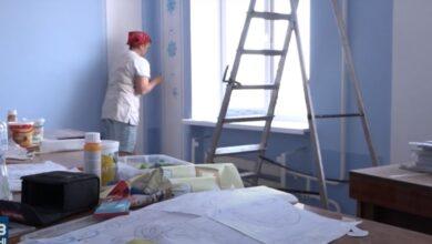 роспись стен в кабинете ОГА