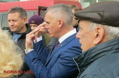Встреча Сенкевича с жителями Корабельного района в 2019 г.
