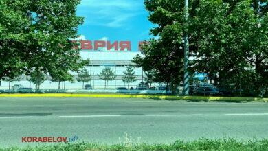 """""""Таврия В"""" на перегоне по пр. Богоявленскому"""