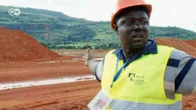 добыча боксита в Гвинее (Русал)
