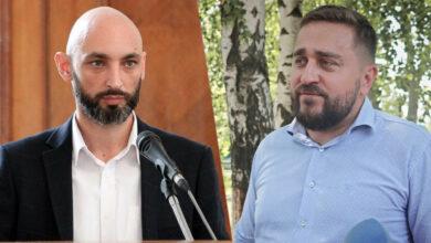 Александр Брижатый и Сергей Коренев