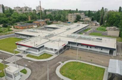 """""""Ковидный"""" госпиталь в Корабельном районе (фото из соцсети)"""