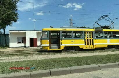 трамвай в Николаеве