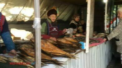 рынок в Корабельном районе г. Николаева