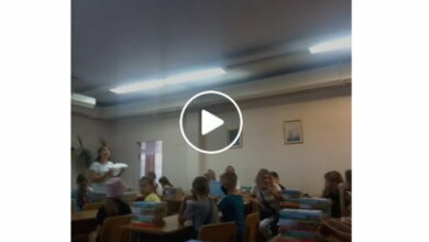 освещение в школьном классе