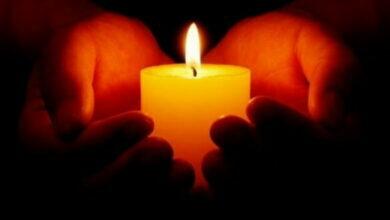 свеча памяти и скорби