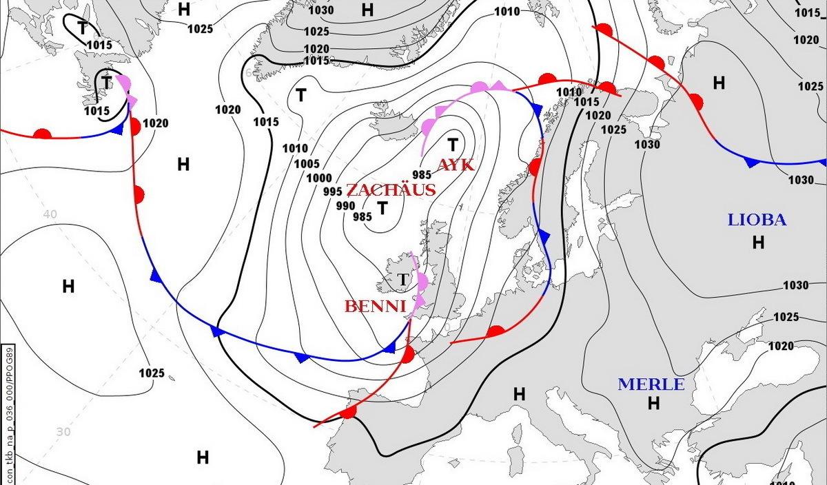 Карта: прогноз на день 2 октября