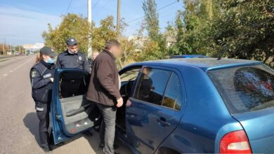 конфликт на перегоне в Николаеве