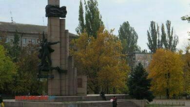 г. Николаев, памятник ленискому комсомолу