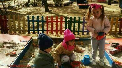 Воспитанники детсада в Корабельном районе Николаева