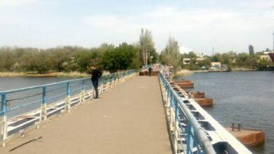 понтонный мост в Николаеве